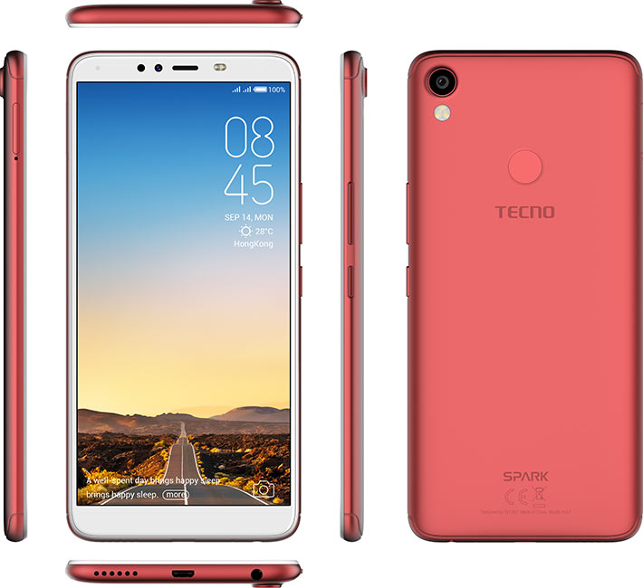 Tecno Spark 2 Price and Specifications